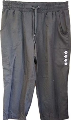 Light Weight Drawstring Waist Capris