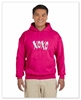 XOXO Unisex Sized Hooded Sweat Azalea